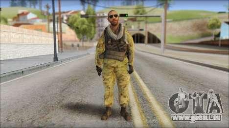 Afganistan Forces für GTA San Andreas