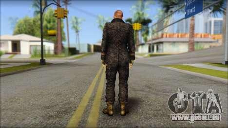 Jake Muller from Resident Evil 6 pour GTA San Andreas deuxième écran