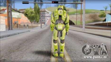 Masterchief Green from Halo für GTA San Andreas dritten Screenshot