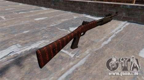 Ружье Benelli M3 Super 90 Kunst des Krieges für GTA 4 Sekunden Bildschirm