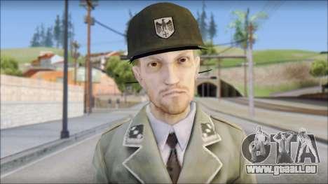 Wehrmacht soldier pour GTA San Andreas troisième écran