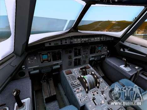Airbus A320-214 Iberia pour GTA San Andreas vue de dessous