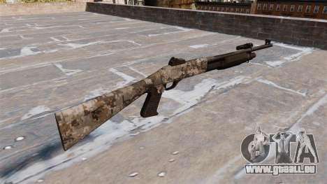 Ружье Benelli M3 Super 90 ghotex pour GTA 4 secondes d'écran
