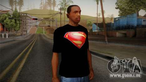 Man of Steel T-Shirt pour GTA San Andreas