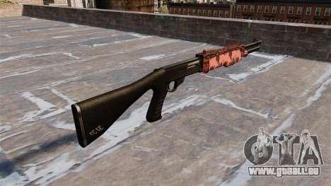 Ружье Franchi SPAS-12 tigre Rouge pour GTA 4 secondes d'écran