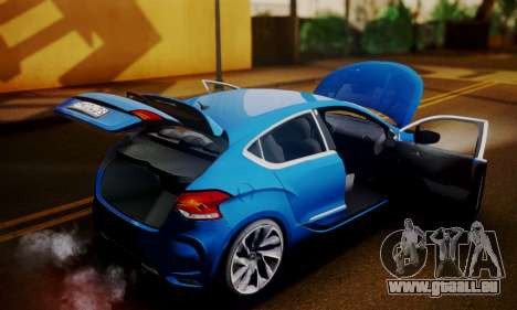 Citroen DS4 2012 für GTA San Andreas Rückansicht