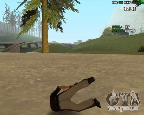 Standing Somersault für GTA San Andreas zweiten Screenshot