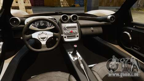 Pagani Zonda C12S Roadster 2001 v1.1 für GTA 4 Innenansicht