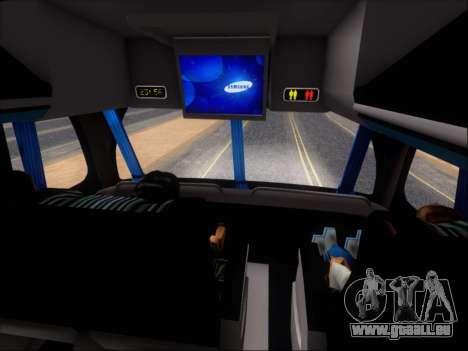 Metalsur Starbus DP 1 6x2 - La Veloz del Norte pour GTA San Andreas salon