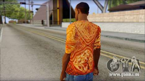 Batik Solo T-Shirt pour GTA San Andreas deuxième écran