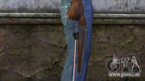 Entlüften mit laser-Augen für GTA San Andreas dritten Screenshot