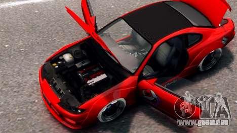 Nissan Silvia S15 Street Drift für GTA 4 hinten links Ansicht