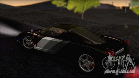 Ferrari Enzo 2002 für GTA San Andreas Innen