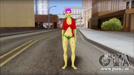 Poison Ivy PED pour GTA San Andreas