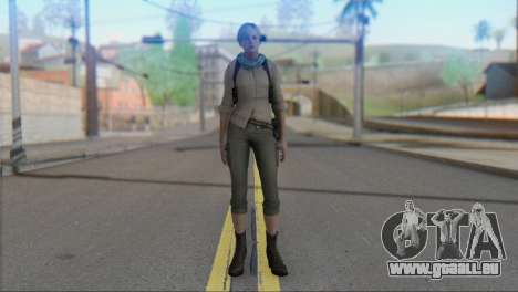 Sherry Birkin Asia from Resident Evil 6 für GTA San Andreas