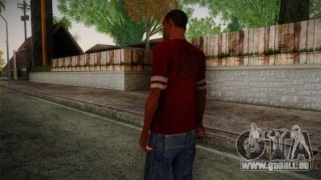Kehed T-Shirt pour GTA San Andreas deuxième écran