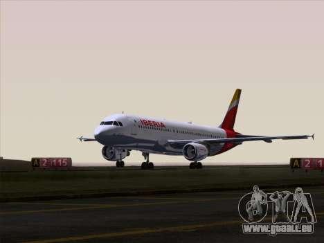 Airbus A320-214 Iberia pour GTA San Andreas moteur