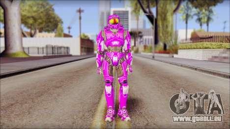 Masterchief Purple from Halo pour GTA San Andreas