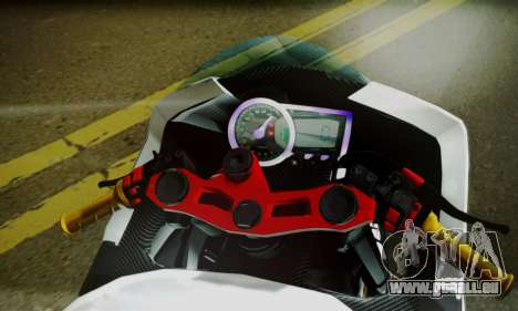 Kawasaki Ninja 250 fi pour GTA San Andreas sur la vue arrière gauche