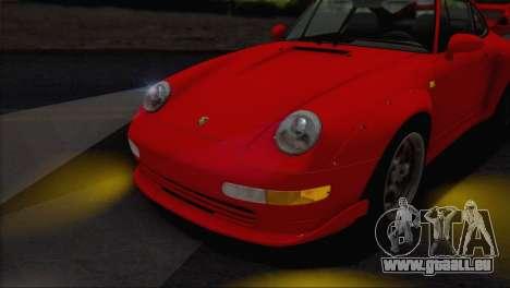 Porsche 911 GT2 (993) 1995 V1.0 EU Plate für GTA San Andreas obere Ansicht