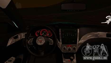 Subaru Impreza Stance Works für GTA San Andreas rechten Ansicht