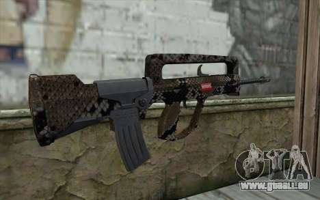 Famas-S für GTA San Andreas zweiten Screenshot