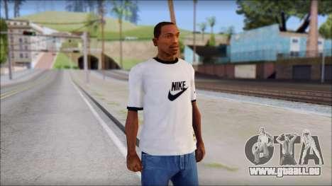 Nike Shirt für GTA San Andreas