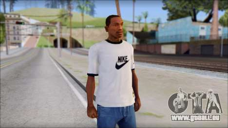 Nike Shirt pour GTA San Andreas
