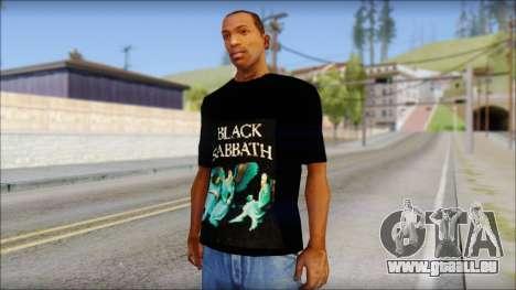 Black Sabbath T-Shirt v1 für GTA San Andreas