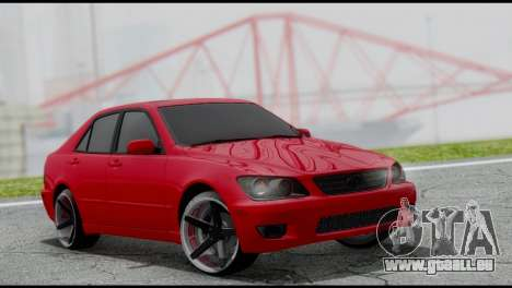 Lexus IS300 Vossen pour GTA San Andreas