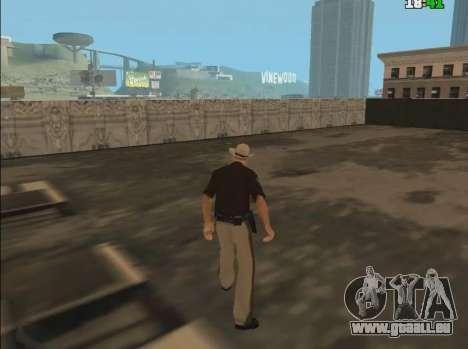 Click Warp pour GTA San Andreas deuxième écran