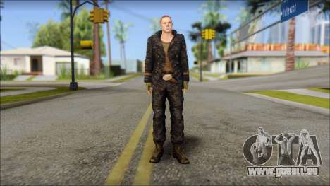 Jake Muller from Resident Evil 6 für GTA San Andreas