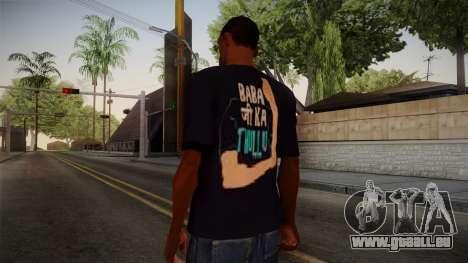 Babaji ka thullu T-Shirt pour GTA San Andreas deuxième écran
