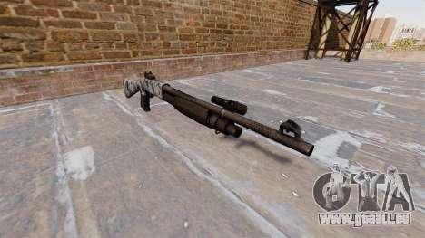Ружье Benelli M3 Super 90 crânes pour GTA 4