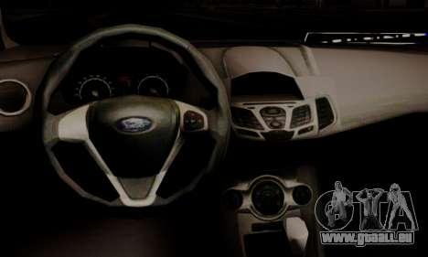 Ford Fiesta Turkey Drift Edition pour GTA San Andreas vue de droite