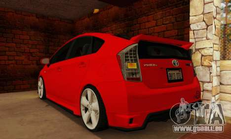 Toyota Prius Tunable für GTA San Andreas linke Ansicht