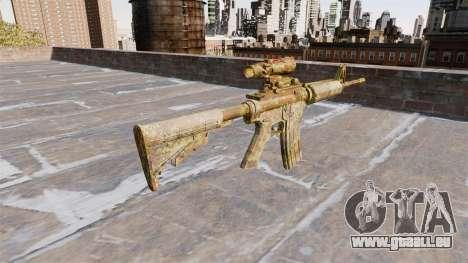 Automatique carabine MA Skol Camo pour GTA 4 secondes d'écran