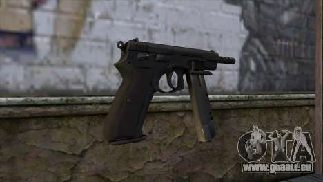 CZ75 from CS:GO v2 für GTA San Andreas zweiten Screenshot