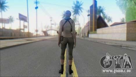 Sherry Birkin Asia from Resident Evil 6 pour GTA San Andreas deuxième écran