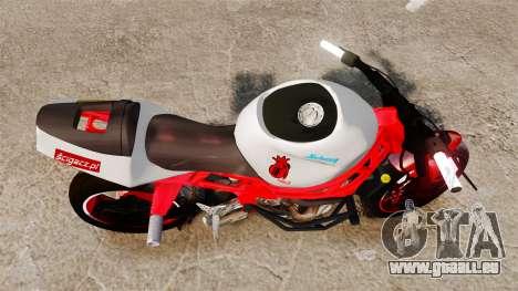 Kawasaki Ninja ZX6R Stunt für GTA 4 rechte Ansicht