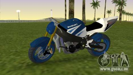 Suzuki GSX-R 1000 StreetFighter pour GTA Vice City