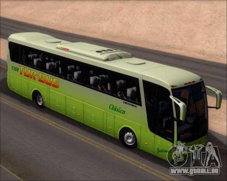 Busscar Vissta LO Scania K310 - Tur Bus für GTA San Andreas Rückansicht