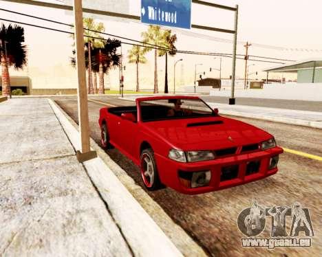 Sultan Convertible pour GTA San Andreas