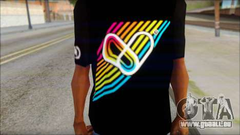 I Love Electro T-Shirt für GTA San Andreas dritten Screenshot
