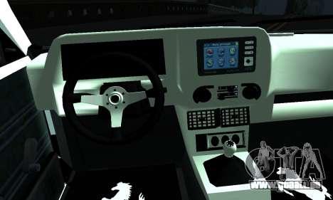Tofas Sahin 06 HLR 53 pour GTA San Andreas sur la vue arrière gauche