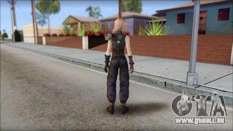 Final Fantasy XIII - Lightning Lowpoly für GTA San Andreas zweiten Screenshot