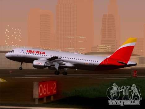Airbus A320-214 Iberia für GTA San Andreas Räder