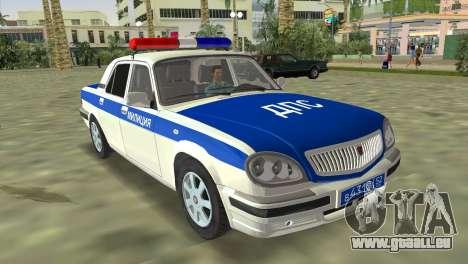 GAZ 31105 Wolga-DPS für GTA Vice City