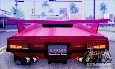 De Tomaso Pantera pour GTA San Andreas vue arrière
