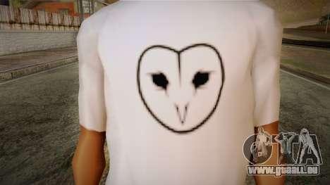 Dreambirds T-Shirt pour GTA San Andreas troisième écran